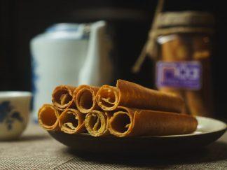 Đặc sản Huế - Bánh đậu xanh cháy Mộc Truly - 200gr