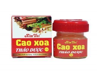 Cao xoa thảo dược Kim Vui - 10gr