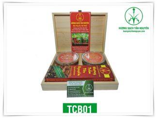Combo hương trầm cao cấp Tân Nguyên – TCB01