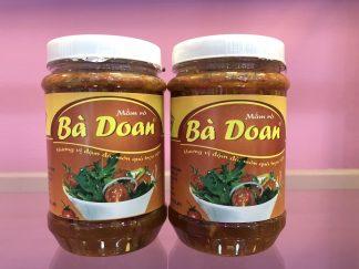 Đặc sản Huế - Mắm cá rò Huế Bà Doan - 500gr